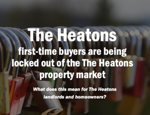 AS THE HEATONS FIRST-TIME BUYERS ARE BEING LOCKED OUT OF THE HEATONS PROPERTY MARKET –  RENTS HAVE RISEN BY 4.9%