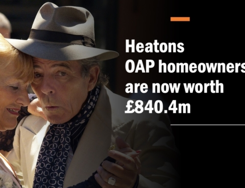 THE HEATONS PENSIONER HOMEOWNERS ARE NOW WORTH £1,387,104,300