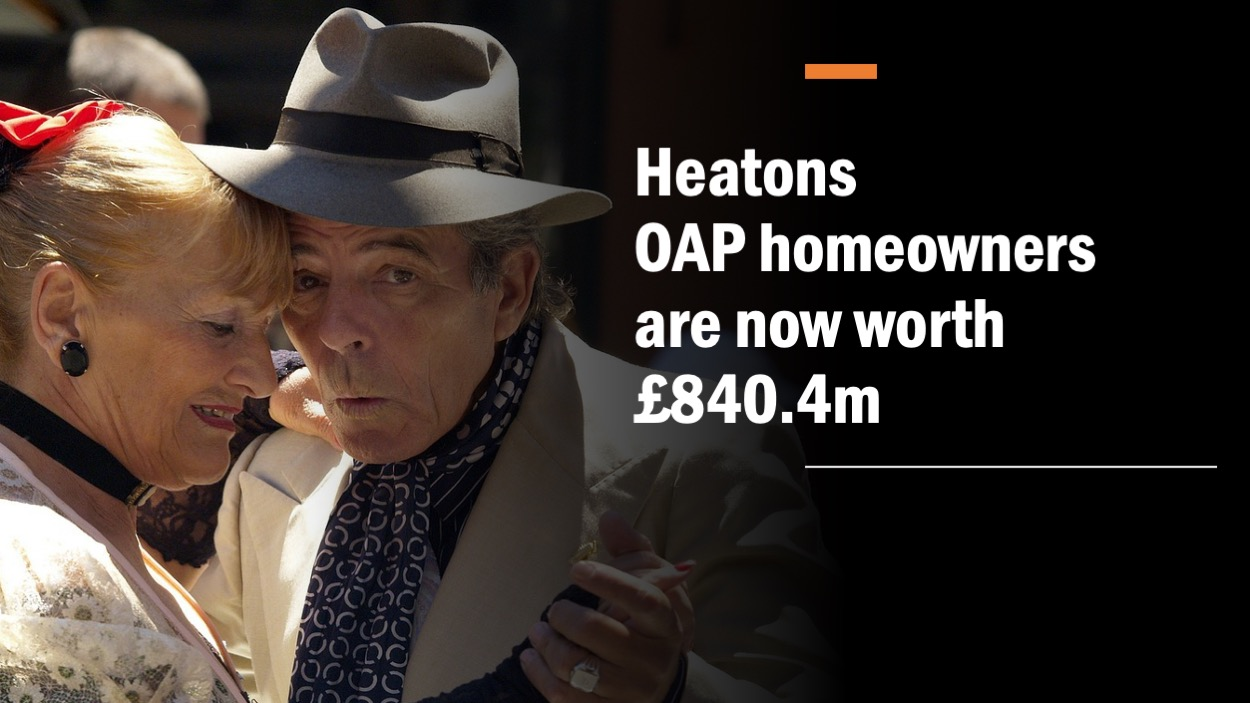 Slide6 - THE HEATONS PENSIONER HOMEOWNERS ARE NOW WORTH £1,387,104,300