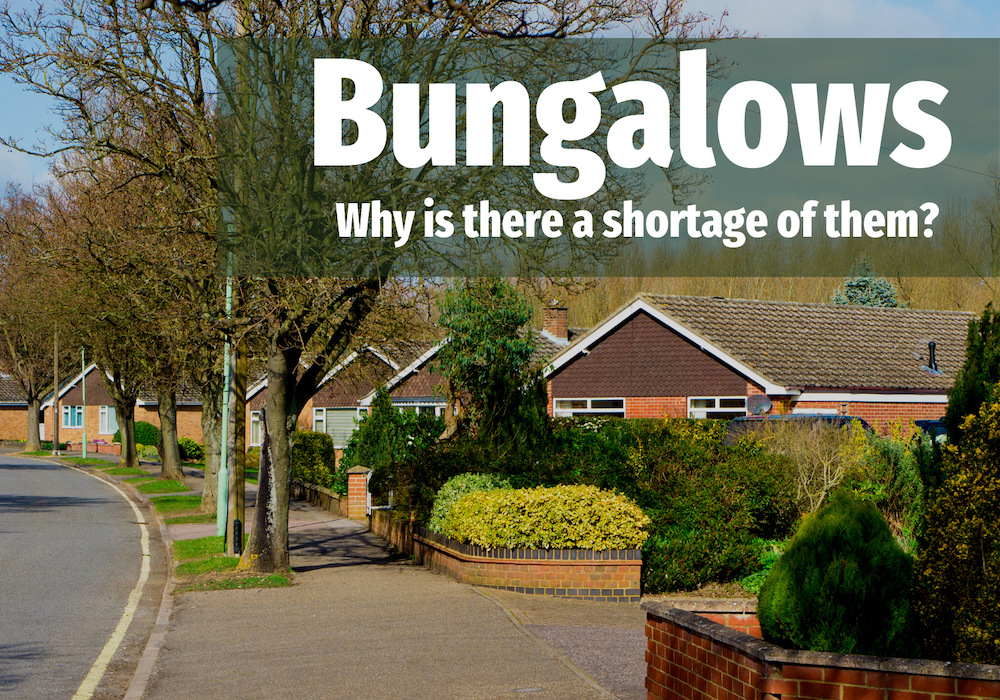 358 Oven Readys 3 - ONLY 1 IN 71 THE HEATONS PROPERTIES ARE BUNGALOWS, DESPITE AN AGEING POPULATION. WHY?