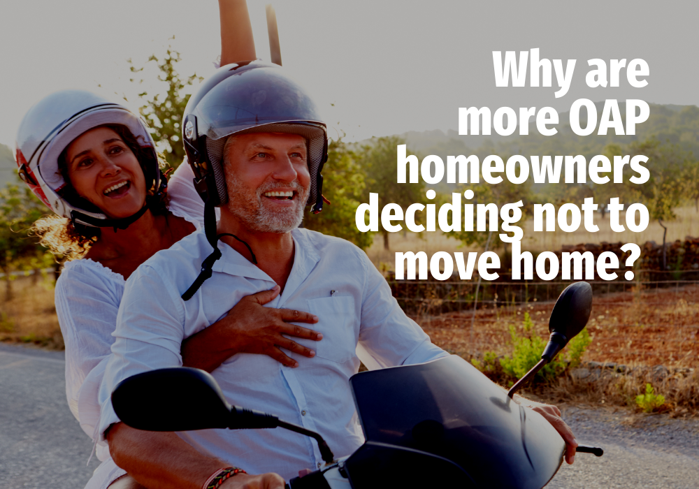 Why Are More Heatons OAP Homeowners Deciding Not to Move Home?
